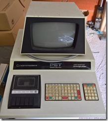 Commodore PET 2001-8C mit Chiclet Tastatur